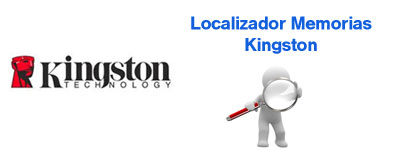 Localizador memorias Kingston