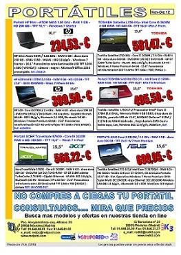 portatiles red pc