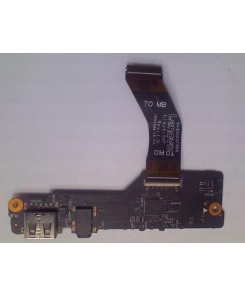 USB tarjeta de Audio botón...