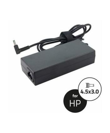 Notebook Adapter HP 19.5V 65W 3.33A 4.5x3.0+pin(90angle,blu)