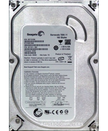 Seagate BarraCuda 7200.11 ST3160813AS 160GB 7200 RPM 8MB