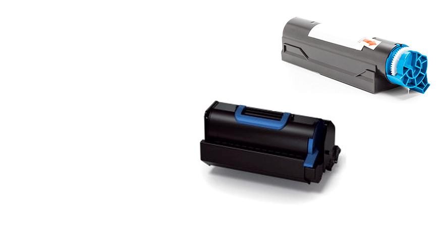 Tóner Laser Monocromo Compatible Oki