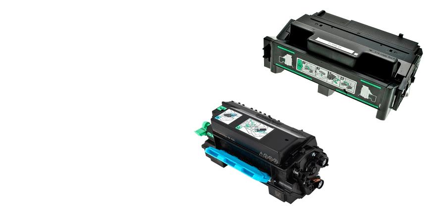Tóner Laser Monocromo Compatible Ricoh