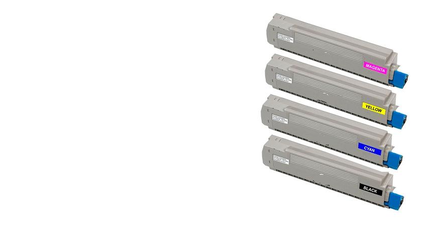 Tóner Laser Color Compatible Oki